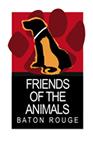 Friends of the Animals Baton Rouge Logo